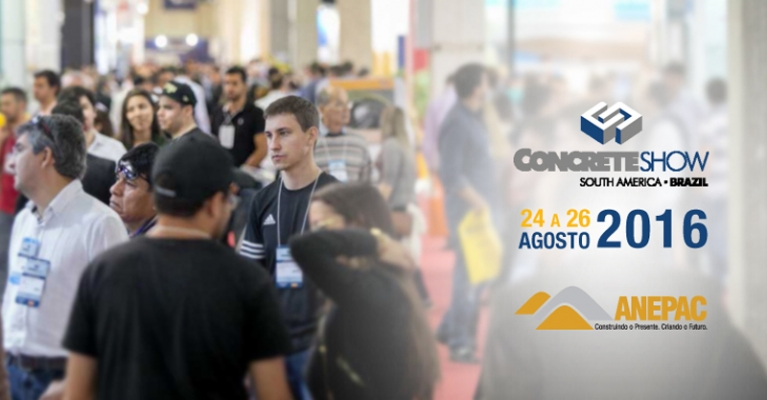 ANEPAC presente no Concrete Show South America.